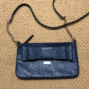 Navy Kate Spade Bow Crossbody Bag